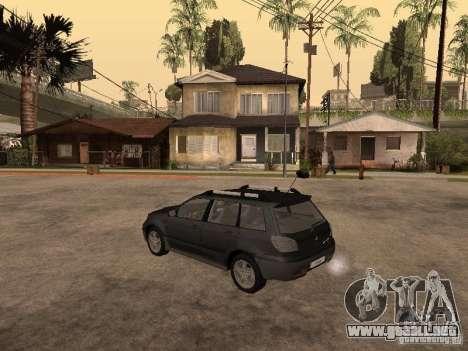 Mitsubishi Outlander 2003 para GTA San Andreas left