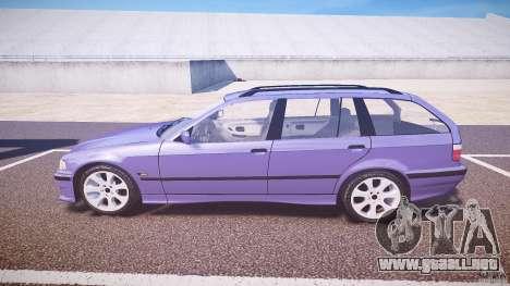 BMW 318i Touring para GTA 4 left