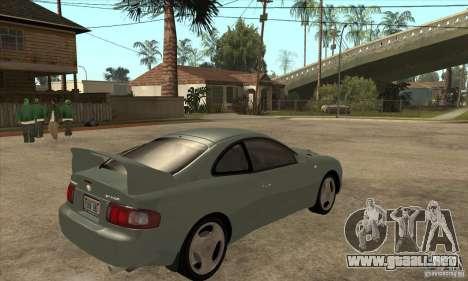 Toyota Celica GT-Four para la visión correcta GTA San Andreas