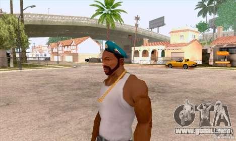 Boina en el aire para GTA San Andreas tercera pantalla