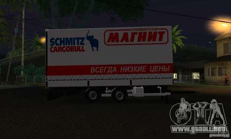 Trailer de Scania R620 para GTA San Andreas left