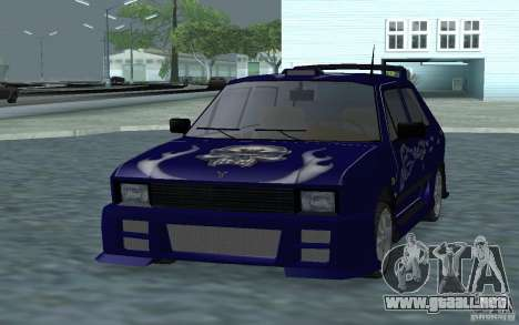 Yugo 45 Tuneable para GTA San Andreas left