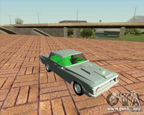 Plymouth Savoy 1962 para GTA San Andreas vista posterior izquierda