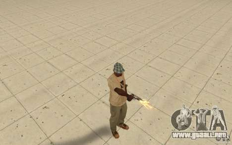 Diferentes estilos de pistola 9 mm para GTA San Andreas segunda pantalla