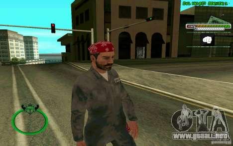 Mechanik HD Skin para GTA San Andreas segunda pantalla