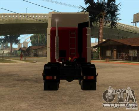 Super Zil v 2.0 para GTA San Andreas vista posterior izquierda