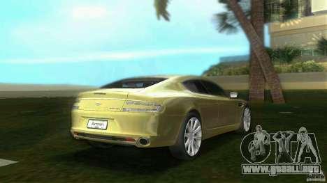 Aston Martin Rapide para GTA Vice City vista lateral izquierdo
