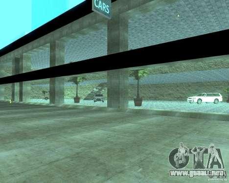 HD Motor Show para GTA San Andreas quinta pantalla