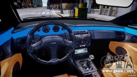Fiat Coupe 2000 para GTA 4 vista hacia atrás