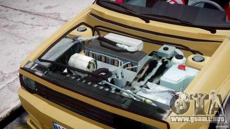 Volkswagen Golf MK2 Tuning para GTA 4 vista interior