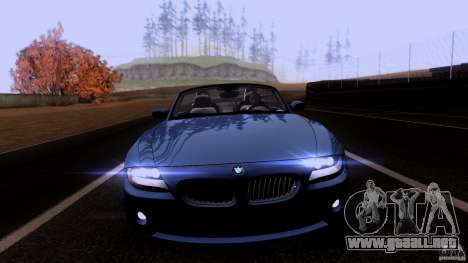 BMW Z4 V10 para GTA San Andreas left