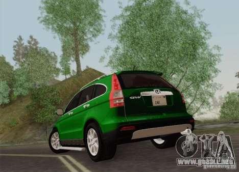 Honda CRV 2011 para la visión correcta GTA San Andreas