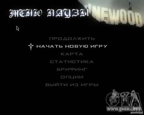 GTA SA - Black and White para GTA San Andreas séptima pantalla