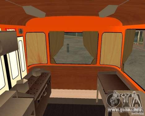 LIAZ-677 (momento de Café) para la visión correcta GTA San Andreas