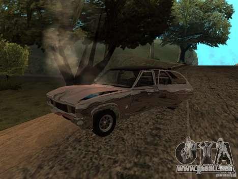 Ford Cortina MK 3 2000E para visión interna GTA San Andreas