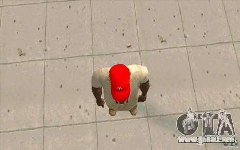 Newyorkyankiys tapa roja para GTA San Andreas tercera pantalla