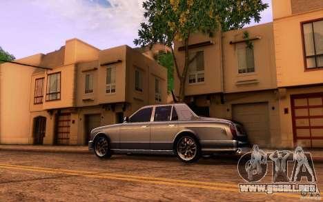 Bentley Arnage R 2005 para GTA San Andreas left