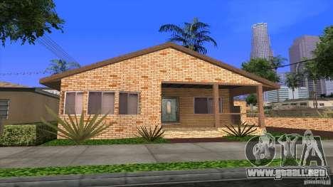 Nuevas texturas de casas y garajes para GTA San Andreas