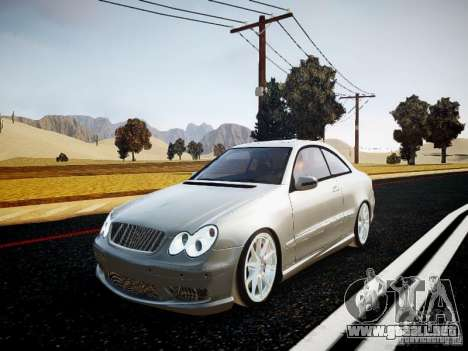 Mercedes-Benz CLK63 AMG Final para GTA 4