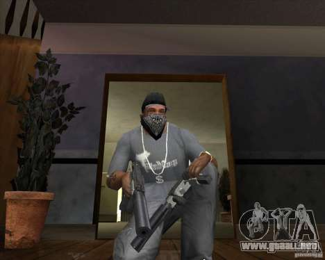 Ingram MAC-10 del counter-strike para GTA San Andreas