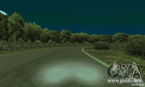 La ruta del rally para GTA San Andreas tercera pantalla