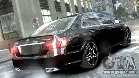 Mercedes-Benz E63 AMG para GTA 4 left