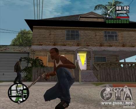 Revólver para GTA San Andreas tercera pantalla