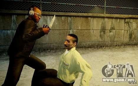 B.A.K. Knife para GTA 4 adelante de pantalla