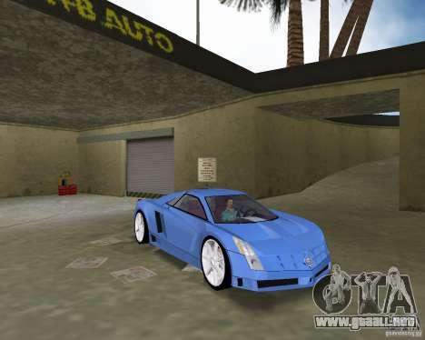 Cadillac Cien para GTA Vice City visión correcta