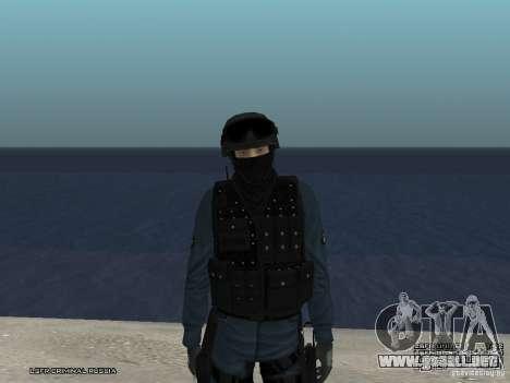 Oficial de policía antidisturbios para GTA San Andreas