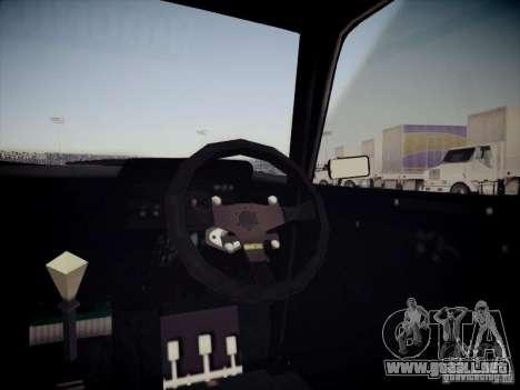 Ford Escort MK2 Gymkhana para vista lateral GTA San Andreas