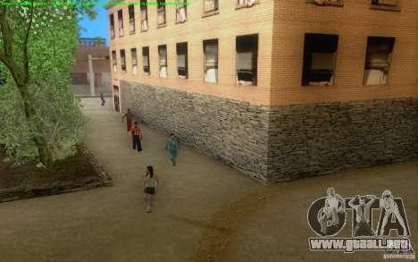 Caminos concretos de Los Santos Beta para GTA San Andreas sexta pantalla