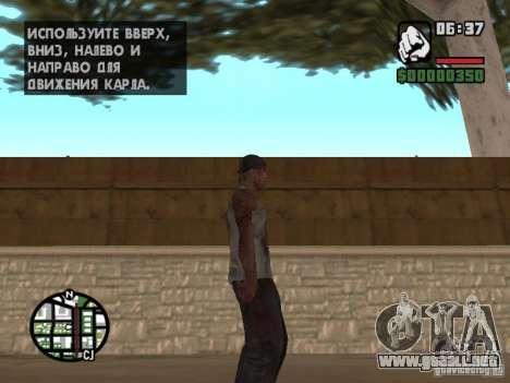 Markus young para GTA San Andreas quinta pantalla