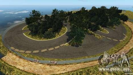 Bihoku Drift Track v1.0 para GTA 4 adelante de pantalla
