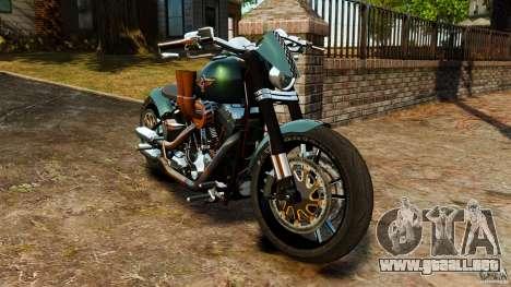 Harley Davidson Fat Boy Lo Racing Bobber para GTA 4