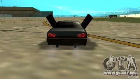 Elegy MIX V.1 para GTA San Andreas vista posterior izquierda