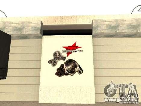 Garaje GRC en SF para GTA San Andreas séptima pantalla