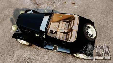 Ford Model T Sabre 1924 para GTA 4 visión correcta