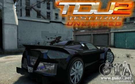 Gumpert Apollo Sport para GTA 4 visión correcta