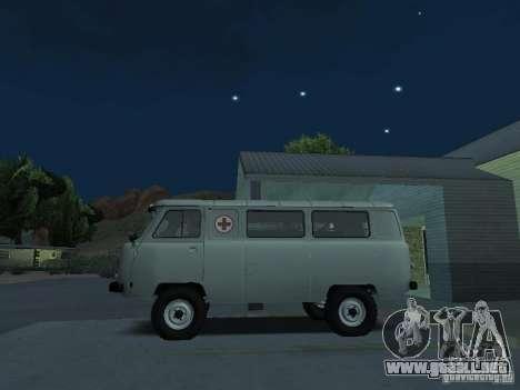 UAZ 451A para GTA San Andreas left