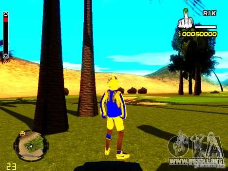 Piel vago v2 para GTA San Andreas tercera pantalla