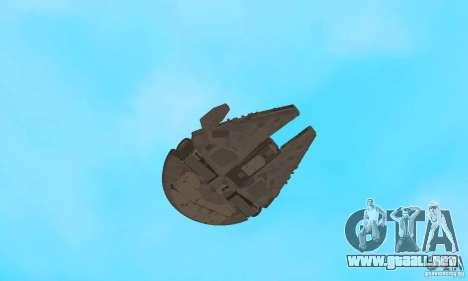 Millenium Falcon! para visión interna GTA San Andreas