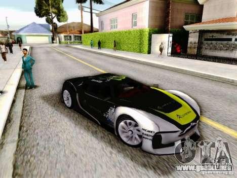 Citroen GT Gymkhana para la visión correcta GTA San Andreas