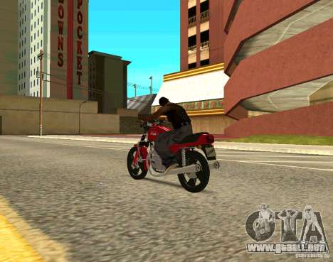 Jawa 350-638 Luxe para GTA San Andreas left