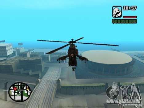 HL 2 VERT v1 para GTA San Andreas vista posterior izquierda