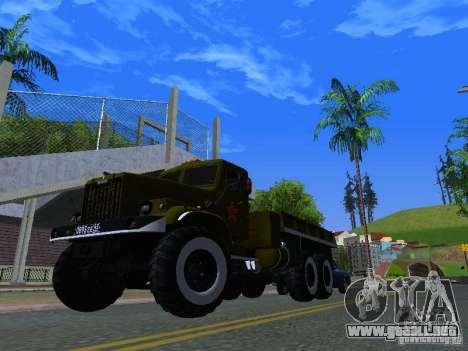 Camión KrAZ desfile para visión interna GTA San Andreas