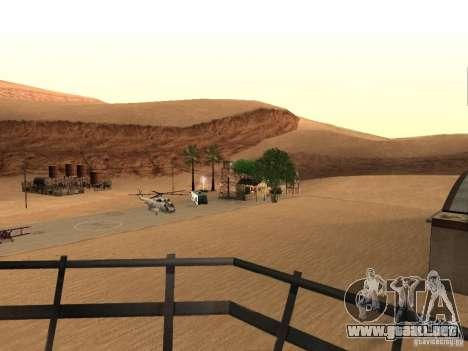 Nuevas instalaciones para el aeropuerto en el de para GTA San Andreas sucesivamente de pantalla