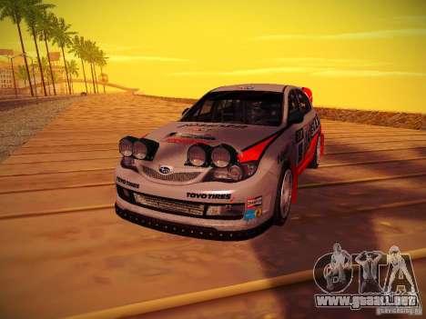 Subaru Impreza WRX STi N14 Rallycross para la visión correcta GTA San Andreas