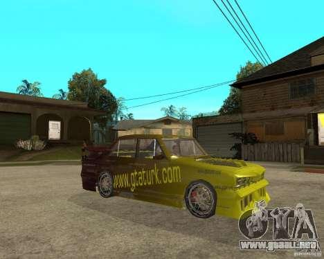 Anadol GtaTurk Drift Car para la visión correcta GTA San Andreas