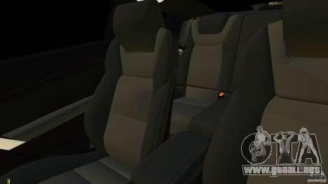Hyundai Genesis Coupe 2010 para GTA 4 vista lateral